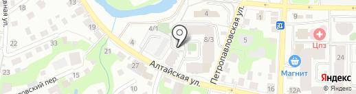 СибЛадЭнерго на карте Томска