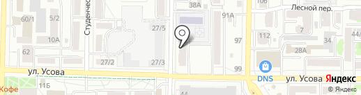 Ремонтно-монтажная компания на карте Томска
