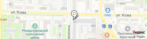 Ступени на карте Томска