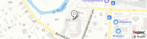 Добродел на карте Томска