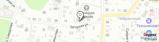 КИТ-ГРУПП на карте Томска
