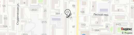 Диджитал сервис на карте Томска