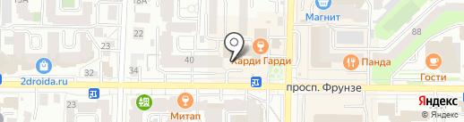 TRIO на карте Томска