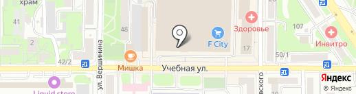 Four seasons на карте Томска