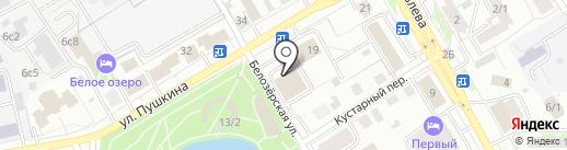 Администрация Октябрьского района на карте Томска