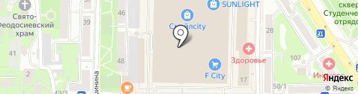 Горячие туры на карте Томска