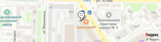 Огни на карте Томска