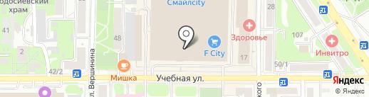 Nike на карте Томска