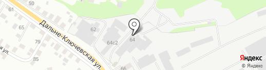 СибТоргСтрой на карте Томска