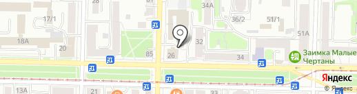 КЕНГУРУМ на карте Томска