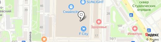 Место под солнцем на карте Томска