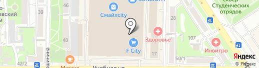 МОНРО на карте Томска