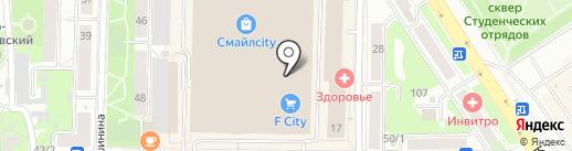 Avon на карте Томска