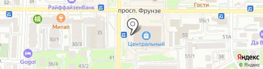 Мастерская по ремонту одежды на карте Томска