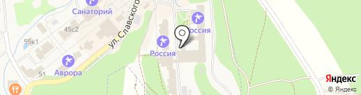 Россия, ЗАО на карте Белокурихи