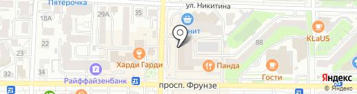 Пластилин на карте Томска