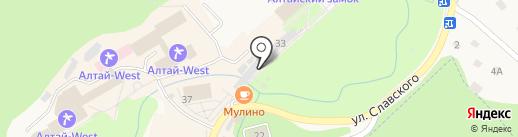 Магазин детских товаров на карте Белокурихи