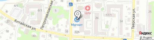 Айболит на карте Томска