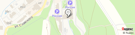 РОССИЯ на карте Белокурихи