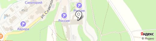 Банкомат, Банк ВТБ 24 на карте Белокурихи