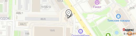 Профи Стайл на карте Томска