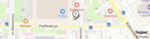 Сайд-Степ на карте Томска