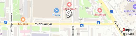 Мастерская по изготовлению ключей, заточке инструмента и ремонту обуви на карте Томска