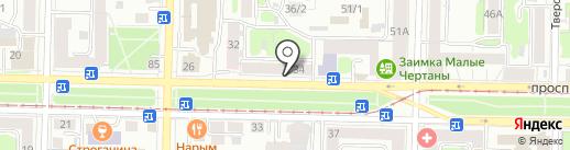 Мир одежды на карте Томска