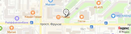 ДЮК-арт на карте Томска