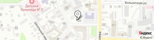 Фалькон на карте Томска