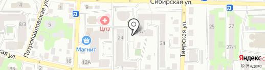 Спецстрой-Т на карте Томска