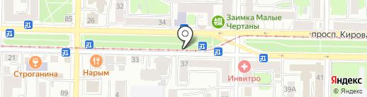 Мастерская по изготовлению ключей, заточке инструментов и ремонту обуви на карте Томска