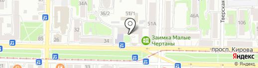 Технические Системы Безопасности на карте Томска