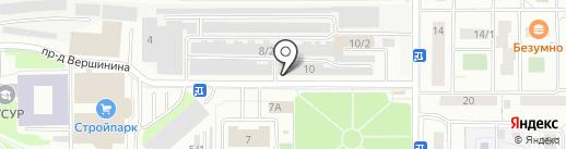 Ковка70.рф на карте Томска