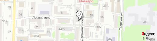Амбар на карте Томска