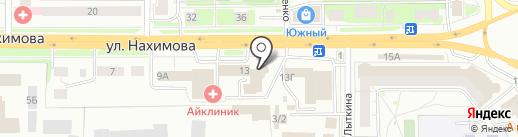 Багет-центр на карте Томска