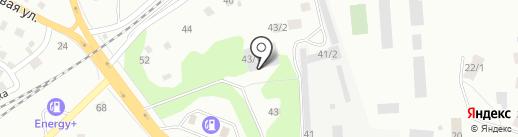 Корвет техно на карте Томска