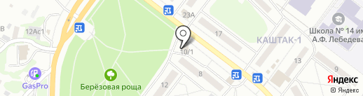 Мотивити на карте Томска