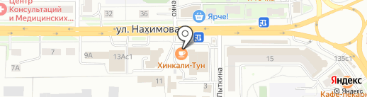 Компьютерные системы на карте Томска