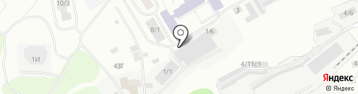 Рем-Зона на карте Томска