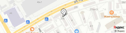 Prada на карте Томска