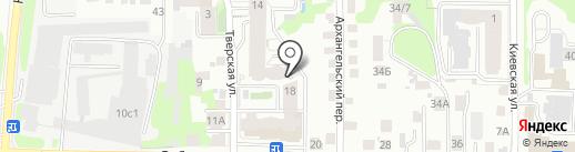 Суши Кот на карте Томска