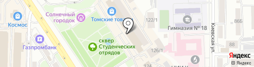 Kaiserhof на карте Томска