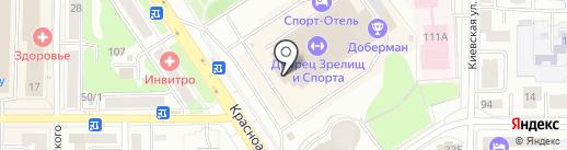 Оскар на карте Томска