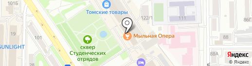 Bogacho на карте Томска