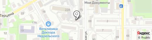 Цель на карте Томска