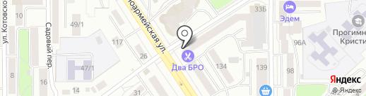 БАШНЯ на карте Томска