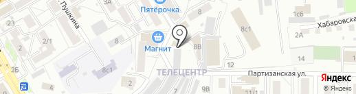 Atmosfera на карте Томска