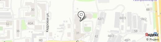 Вайлет на карте Томска