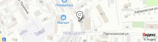 Энигмус на карте Томска